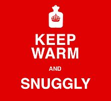 Keep Warm and Snuggly - iPad Cover by BlueShift