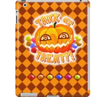 Pumpkin Tipo (w/ BG) iPad Case/Skin
