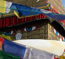 All Seeing Eyes, Kathmandu, Nepal by TravelShots