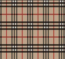 Artistic plaid pattern by nadil