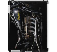 Black Indian Four Engine iPad Case/Skin