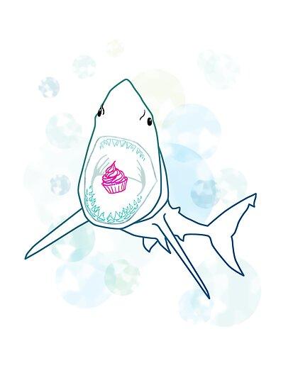 Sharks love cupcakes by JayZ99