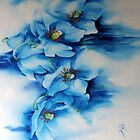Meconopsis I Pad Cover by Bev  Wells