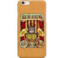 Death's Minstrel: Jolly Chimp Sideshow Banner iPhone Case/Skin