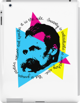 nietzsche ipad case by kennypepermans