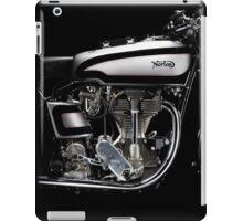 Norton Manx Engine iPad Case/Skin