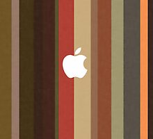 Apple Strippy Design iPad Cover by David Alexander Elder