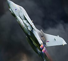 Tornado fighter jet full after burner by Martyn Franklin