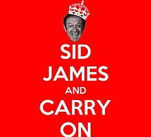 Sid James by macaulay830