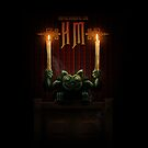 Haunted Mansion Gargoyle Design by Topher Adam for iPad 5 by Hugs &amp; Bitchslaps SX Couture