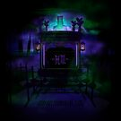 Haunted Mansion Herse Design by Topher Adam for iPad by Hugs & Bitchslaps SX Couture