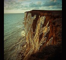 Lomo Cliff ipad case by jamesdt