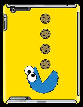 Cookie Monster Pacman by dutyfreak