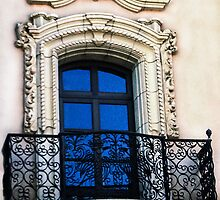 Blue Window by heatherfriedman