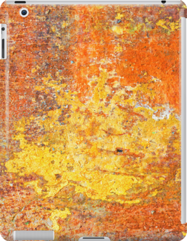 Decayed wall - iPad case by Silvia Ganora by Silvia Ganora