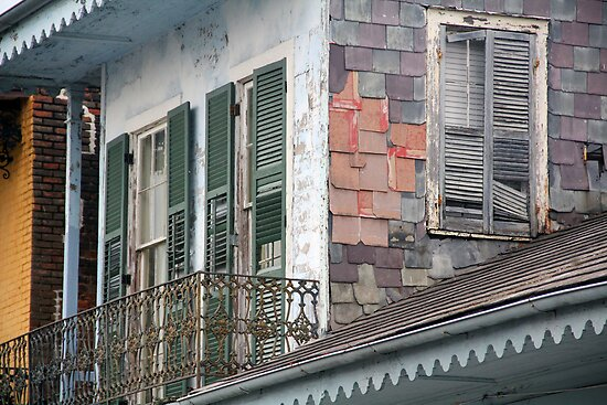 New Orleans Windows and Doors IX by Igor Shrayer
