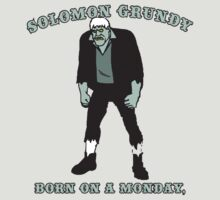 Solomon Grundy by BUB THE ZOMBIE