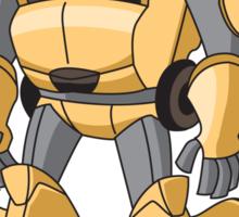 DUMBR The Ottobot Robot Sticker Sticker