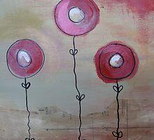 Modern poppies by selenasmith