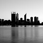 Perth CBD Skyline by HPG  Images