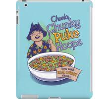 Chunk's Chunky Puke Hoops iPad Case/Skin