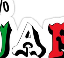 100% Guapo Sticker