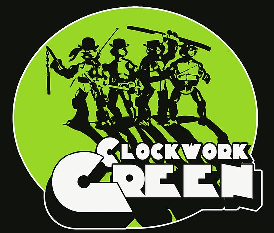 A Clockwork Green by devildrexl