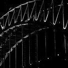 Sydney Harbour Bridge Moonrise by Alexander Kesselaar
