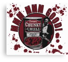 Texas Chainsaw Chili Canvas Print