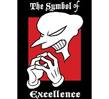 The Symbol of Excellence Photographic Print