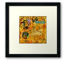 Just a Little Chat about Dreams and Things Framed Print