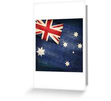 Australia  flag Greeting Card