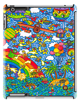 Flying High (iPad Case) by Sammy Nuttall
