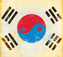 south Korea flag by naphotos