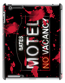 Bloody Bates Motel - iPad Case by Bryan Freeman
