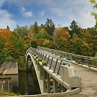 Bridge in Autumn by flashcompact