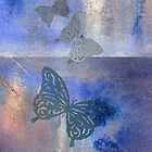 Butterflies drifting in the breeze by Carien