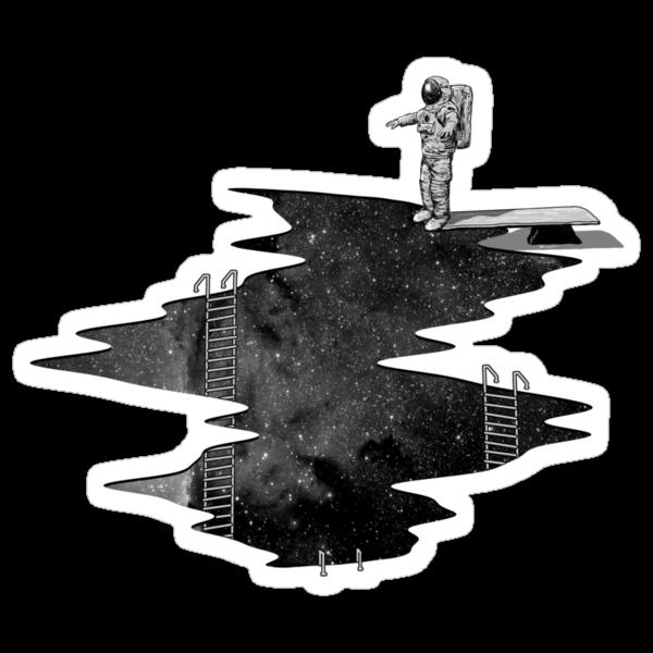 Space Diving by nicebleed