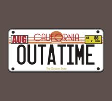 Outatime license plate by superedu