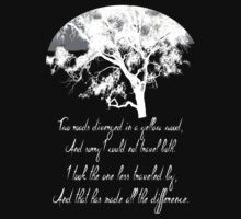 The Road Not Taken -- Robert Frost by syrensymphony