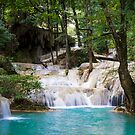 """Erawan"" water fall  by naphotos"