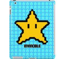 invincible mario star  iPad Case/Skin