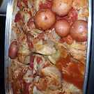 Stuffed Cabbage 'n Red Potatoes Photo iPad Case by Cherie Balowski