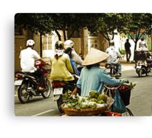 The Way Saigon Moves Canvas Print