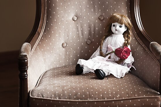 Rose and Doll by April Koehler