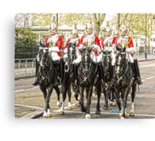 All the Queens Horses Canvas Print