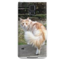 I whip my tail back and forth ..... Samsung Galaxy Case/Skin