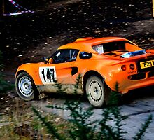 Lotus Elise No 147 by Willie Jackson