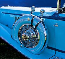 1930 Cord L21 Side-Mount Detail by DaveKoontz