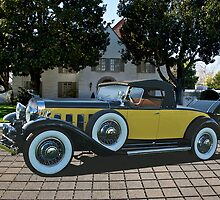 1930 Cadillac Convertible Coupe by DaveKoontz